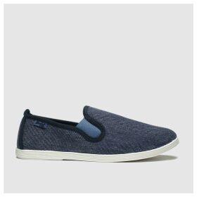 Blowfish Blue Gadget Flat Shoes