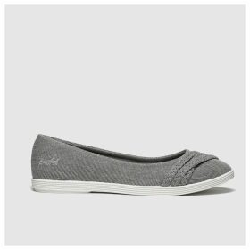 Blowfish Grey Giddie Flat Shoes