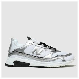 New Balance Silver & Black Xrc Trainers