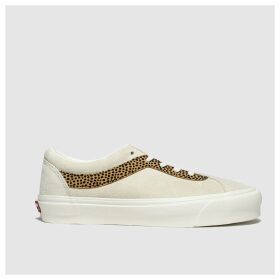 Vans Beige & Brown Bold New Issue Trainers
