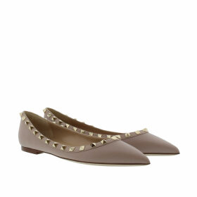 Valentino Ballerinas - Rockstud Ballerina Powder - rose - Ballerinas for ladies