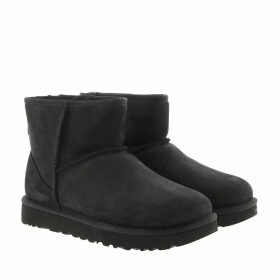 UGG Boots & Booties - W Classic Mini Leather Black - black - Boots & Booties for ladies