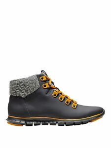 Zerogrand Leather Hiker Boots
