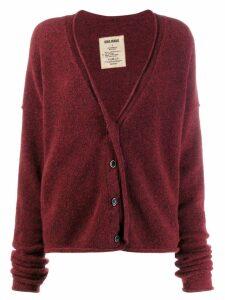 Uma Wang knitted cardigan - Red