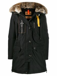 Parajumpers fur trimmed parka - Black