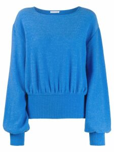 Société Anonyme wide sleeved sweatshirt - Blue