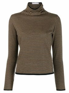 Société Anonyme striped turtleneck jumper - Neutrals