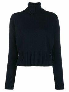 Société Anonyme roll neck sweatshirt - Blue