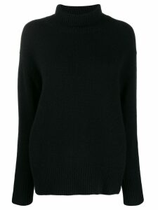 Allude cashmere turtleneck sweater - Black