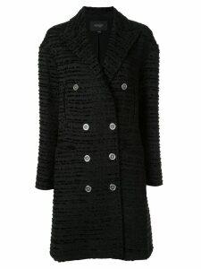 Giambattista Valli classic double-breasted coat - Black