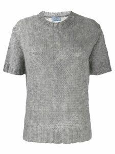 Prada loose knit top - Grey