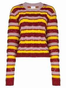 Ashish stripe knit jumper - Multicolour
