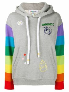 Mira Mikati rainbow hoodie - Grey