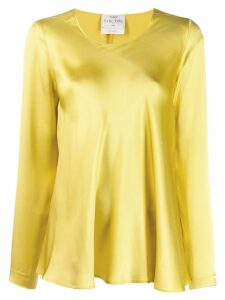 Forte Forte satin blouse - Yellow