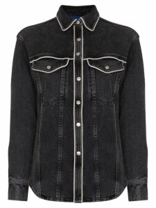 Simon Miller western-inspired denim shirt - Grey