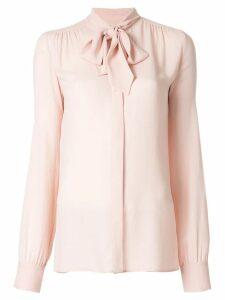 Giambattista Valli bow detail blouse - PINK