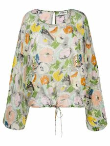 Essentiel Antwerp Tristori oversized blouse - Green