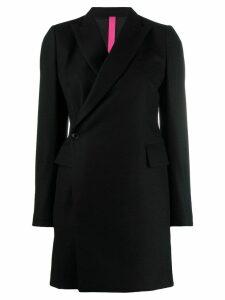 Y's wrap coat - Black
