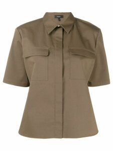 Theory collared shirt - Green