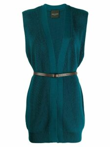 Roberto Collina Ottanio knitted top - Blue