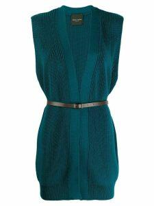 Roberto Collina Ottanio knitted top - Blue