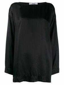 Katharine Hamnett London oversized Meg top - Black