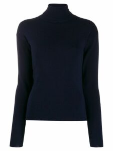 Katharine Hamnett London roll neck jumper - Blue