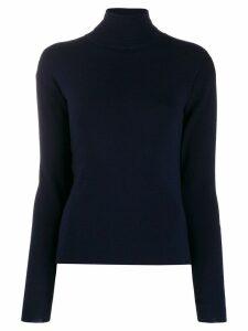 Katharine Hamnett London roll neck jumper - Blue