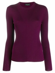 Roberto Collina Porpora sweatshirt - Purple
