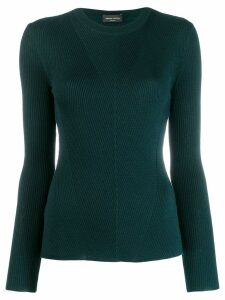 Roberto Collina ribbed knitted sweatshirt - Green