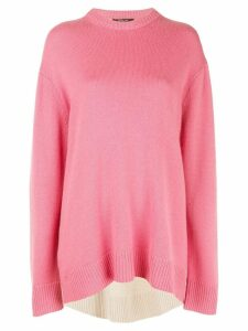 Derek Lam two-tone jumper - PINK