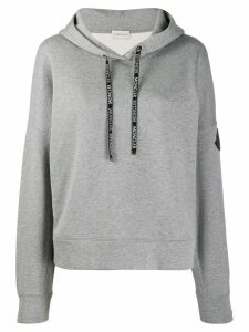 Moncler hooded sweatshirt - Grey