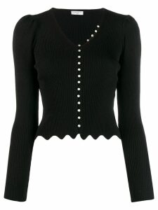 Sandro Paris Ginaz knitted top - Black