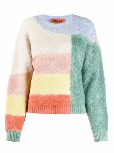 Missoni colorblock jumper - Green