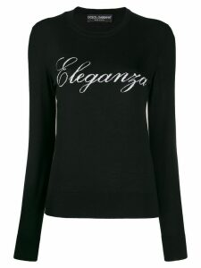 Dolce & Gabbana Eleganza jumper - Black