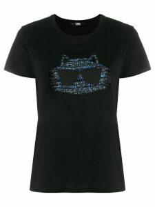 Karl Lagerfeld Choupette T-shirt - Black