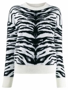 Laneus two tone jumper - White