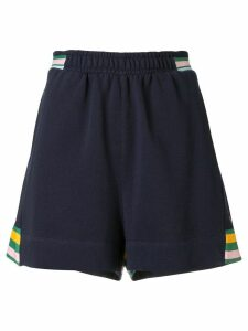 The Upside striped active shorts - Blue