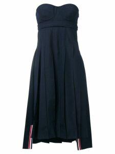 Thom Browne School Uniform Corset Dress - Blue