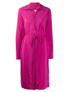Lemaire zipped dress - PINK