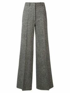 Victoria Beckham high waisted wide leg trousers - Black