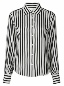 FRAME striped long-sleeved shirt - White