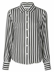 FRAME striped long-sleeved shirt - White