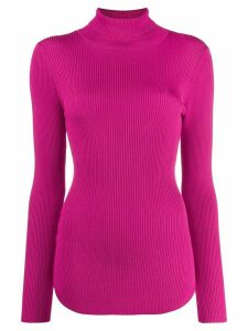 Pinko ribbed roll neck jumper