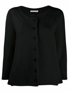 Stefano Mortari relaxed-fit knit cardigan - Black
