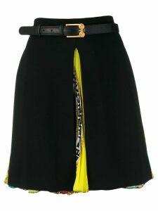 Versace high-waist A-line skirt - Black