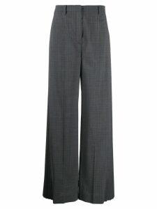 Prada wide-leg tailored trousers - Grey