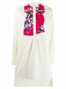 Roksanda mandarin collar tunic - NEUTRALS