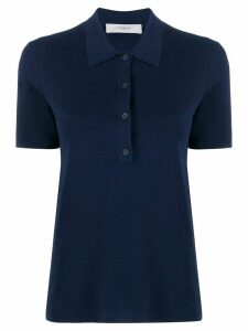 Pringle of Scotland short sleeved polo shirt - Blue