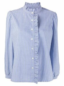 A.P.C. striped shirt - Blue